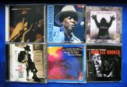 лицензионные CD    блюзовых исполнителей Albert King и John Lee Hooker